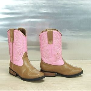 2e09d97cea2 Smartfit Children girls size 11 Cowgirl Pink Boot
